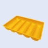 Plastic tray production process